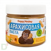 Арахисовая паста ОРИГИНАЛЬНАЯ Happy Monkey